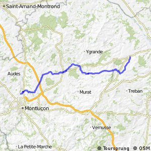 Véloroute du Bourbonnais - projet