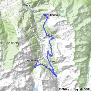 43MTB Valais Alpine Bike (Etape 4 Grimentz--Sierre (Chandolin))
