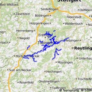 Radverkehrsnetz BW, Landkreis Tübingen
