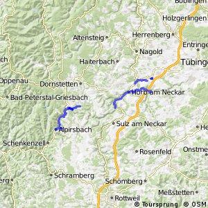 Radverkehrsnetz BW, Landkreis Freudenstadt