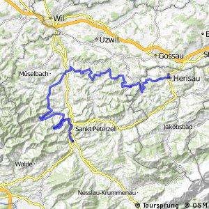 rcn 99 - Etappe 11 (Wattwil - Herisau)