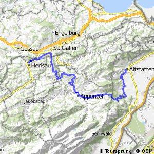 rcn 99 - Etappe 12 (Herisau - Altstätten)