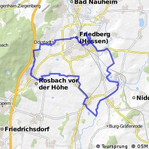 Apfelwein- und Obstwiesenroute - Regionalschleife Wetteraukreis Route 7: Wetterauer Mitte