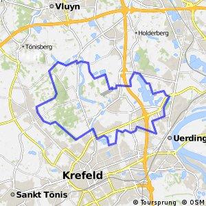 Radroute Krefeld R3