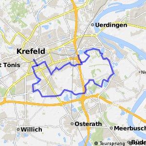 Radroute Krefeld R5