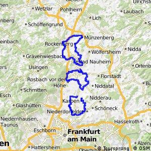 Apfelwein- und Obstwiesenroute - Regionalschleife Wetteraukreis