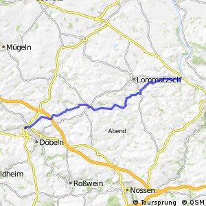 Döbeln–Elbe-Hauptradroute
