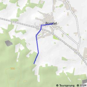 R242 Borstel - R246 Borstel Grinderwald