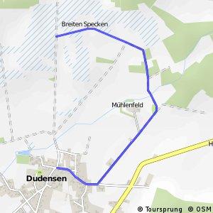 R233 Dudensen 1 - RR226 Dudenser Moor 2 (via Bockwindmühle)