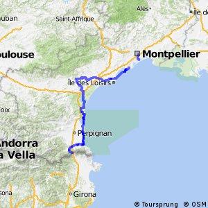 EuroVelo 8 - La route de la Méditerranée - Partie française