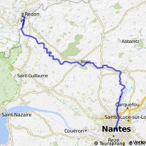 EV1 : Redon ↔ Nantes
