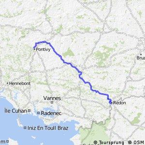 EV1 Pontivy > Redon