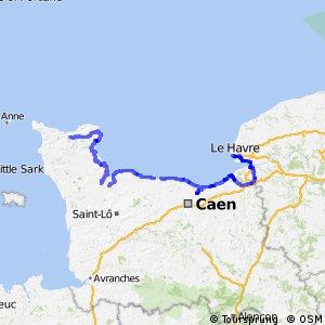 EV4 Cherbourg > Le Havre