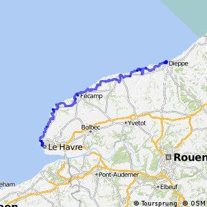 EV4 Le Havre > Dieppe