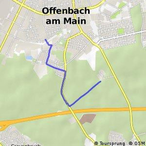 Apfelwein- und Obstwiesenroute in Offenbach am Main