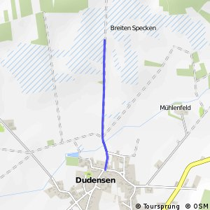 R233 Dudensen 1 - RR226 Dudenser Moor 2 (direkt)