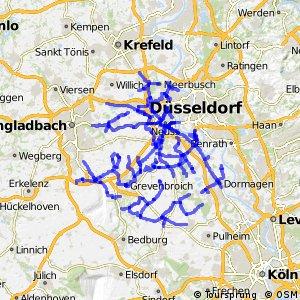 Radverkehrsnetz NRW, Rhein-Kreis Neuss