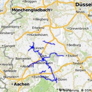 Radverkehrsnetz NRW, Kreis Düren