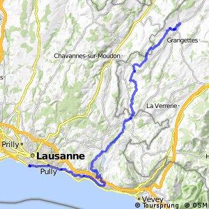 rcn 99 - Etappe 1 (Lausanne - Romont