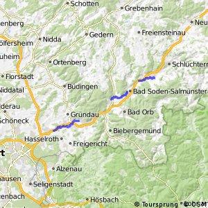 Hessische Apfelwein- und Obstwiesenroute - Main-Kinzig-Kreis, Hauptroute