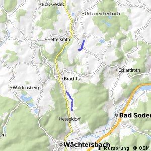 Hessische Apfelwein- und Obstwiesenroute - Main-Kinzig-Kreis, In den Vogelsberg