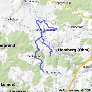 Hessische Apfelwein- und Obstwiesenroute - Homberg und Oberes-Ohmtal
