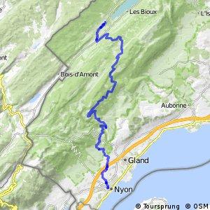 Jura Bike - Étape 9 (Le Sentier - Nyon)