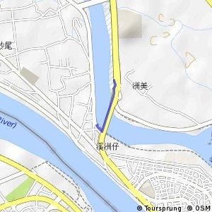 洲美橋自行車道