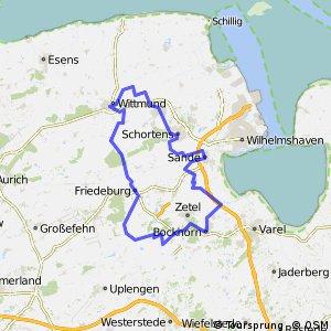 Route 1: Kirchen-Mühlen-Schlösser (Variante B)