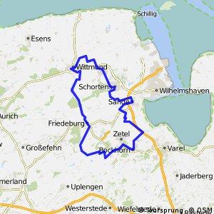 Route 1: Kirchen-Mühlen-Schlösser