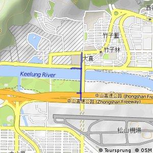 大直橋自行車道
