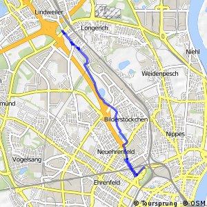 Knotennetz NRW Koeln (04) - Koeln (93)