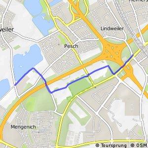 Knotennetz NRW Koeln (04) - Koeln (05)