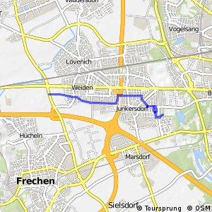 Knotennetz NRW Koeln (09) - Frechen (39)