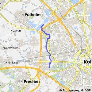 Knotennetz NRW Koeln (05) - Koeln (09)