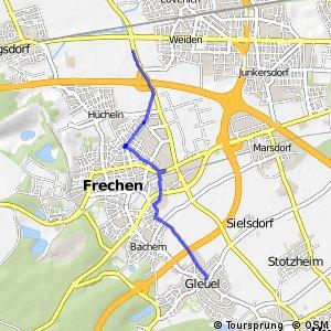 Knotennetz NRW Frechen (39) - Huerth (40)