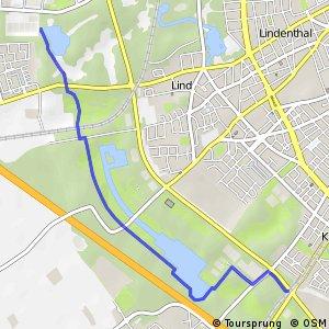 Knotennetz NRW Koeln (10) - Koeln (14)