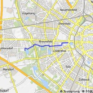 Knotennetz NRW Koeln (10) - Koeln (11)