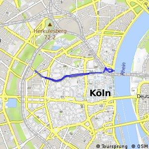 Knotennetz NRW Koeln (92) - Koeln (99)