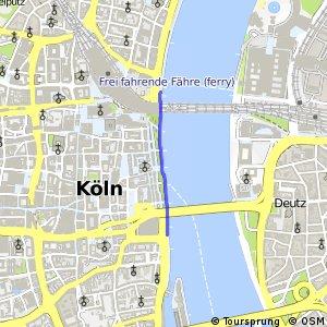 Knotennetz NRW Koeln (90) - Koeln (99)