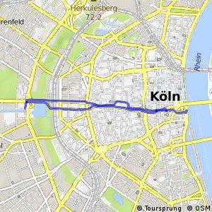 Knotennetz NRW Koeln (11) - Koeln (90)
