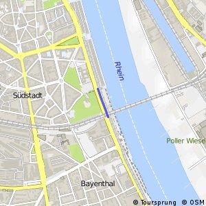 Knotennetz NRW Koeln (52) - Koeln (53)