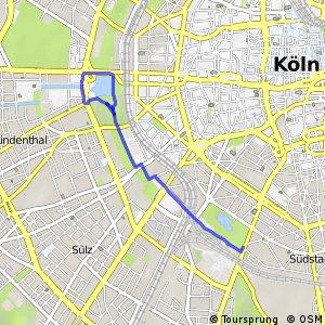 Knotennetz NRW Koeln (11) - Koeln (54)