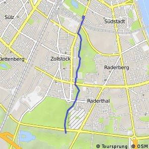 Knotennetz NRW Koeln (15) - Koeln (54)
