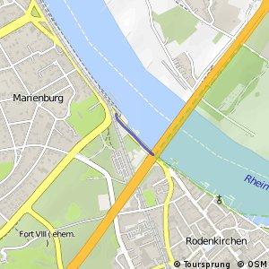 Knotennetz NRW Koeln (13) - Koeln (50)
