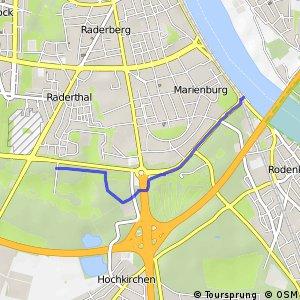 Knotennetz NRW Koeln (13) - Koeln (86)