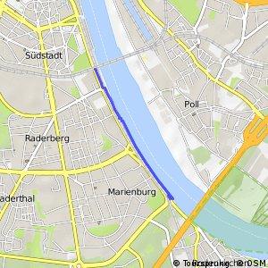 Knotennetz NRW Koeln (13) - Koeln (52)