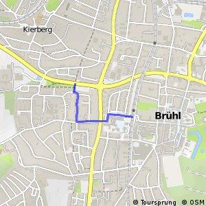 Knotennetz NRW Bruehl (66) - Bruehl (72)