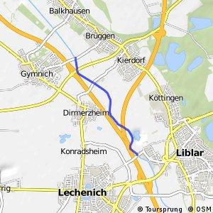 Knotennetz NRW Kerpen (59) - Erftstadt (64)