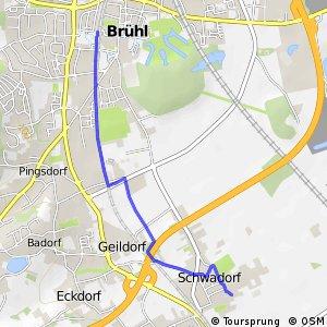 Knotennetz NRW Bruehl (72) - Bruehl (73)